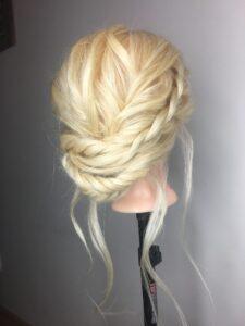 fryzura boho ślubna